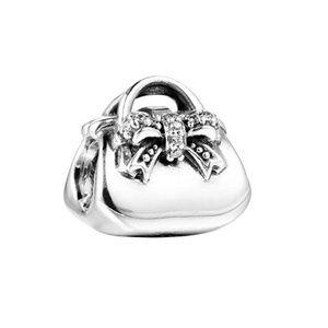 RETIRED Authentic Pandora Handbag CZ Charm RARE